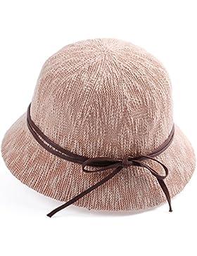 LVLIDAN Sombrero para el sol del verano Lady Anti-sol Sombrero pescador rosa