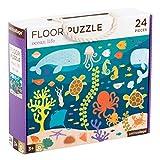 Petit Collage Floor Puzzle | Ocean Life