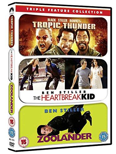 Bild von Tropic Thunder/Zoolander/Heartbreak Kid [UK Import]