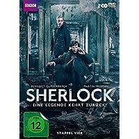 Sherlock - Eine Legende kehrt zurück! Staffel vier