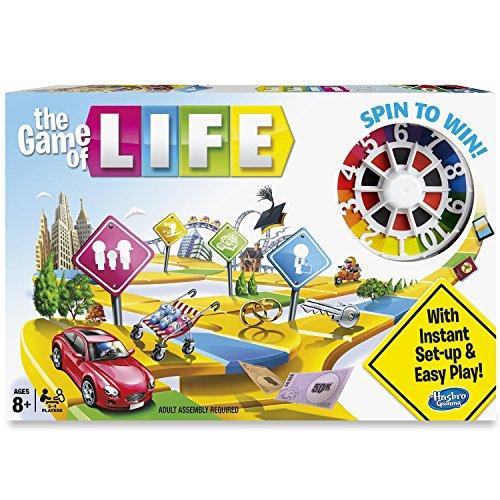 Hasbro Gaming 04000 - The game of life, juego de tablero (versión en