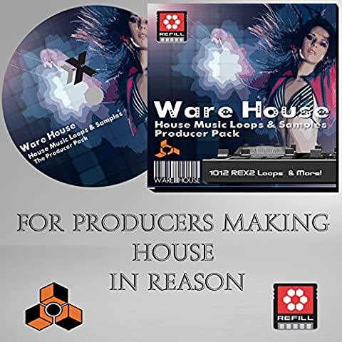 WareHouse - Propellerhead Reason Refill - House Music including 1012 Dr Rex loops!