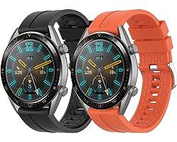Supore Cinturino Compatibile con Huawei Watch GT2 46mm/Watch GT 46mm/Watch GT Active/Watch 2 PRO/Honor Watch Magic/Galaxy Wat