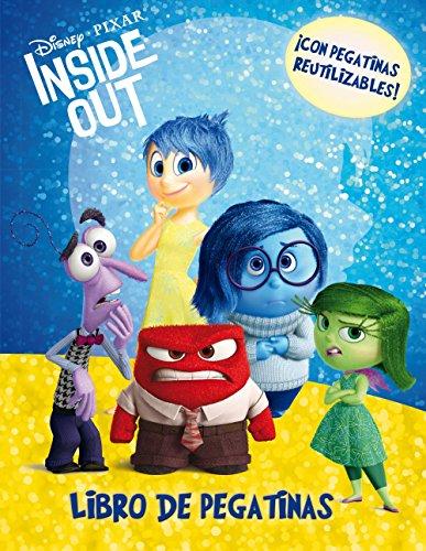 Inside Out. Libro de pegatinas: ¡Con pegatinas reutilizables! (Disney. Inside out) por Disney