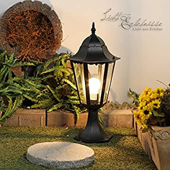 luminaire petit lampadaire ext rieur lanterne de jardin. Black Bedroom Furniture Sets. Home Design Ideas