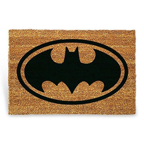 """'923253commerciale HC Zerbino """"Batman, in cocco 60x 40cm naturale/nero"""