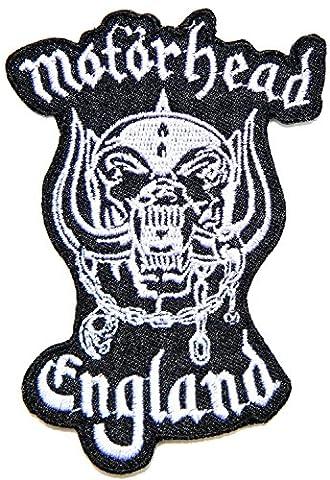 Groupe de musique MOTORHEAD Band Logo Veste T-shirt Sew Iron on Patch brodé signe