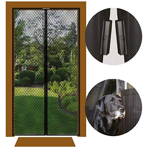 Insektenschutz Bestlivings Magnetvorhang Fliegengitter für Türen, in Länge und Breite individuell kürzbar, Auswahl: 100x210cm