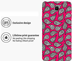 """Humor Gang Indian Ethnic Pattern Red Printed Designer Mobile Back Cover For """"Sony Xperia Z5 Mini - Compact"""" (3D, Matte Finish, Premium Quality, Protective Snap On Slim Hard Phone Case, Multi Color)"""