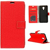 Acer Liquid Z6 Plus Wallet Case, Acer Liquid Z6 Plus Leather Case, Codream Premium PU Leather Carry Case Folio Stand Bumper Back Case Compatible With Acer Liquid Z6 Plus - Red