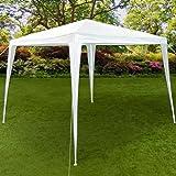 Pavillon 3x3m Festzelt Partyzelt Gartenzelt weiß ✔9m² ✔wasserabweisend ✔einfache Montage ✔Stecksystem - Modellauswahl