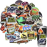 Stickers for Water Bottles Outdoor Stickers Nature Stickers Camping Stickers Adventure Stickers for Yeti Stick