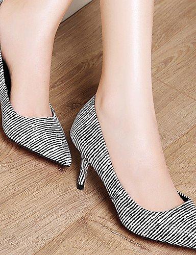 WSS 2016 Chaussures Femme-Mariage / Décontracté / Soirée & Evénement-Noir-Talon Aiguille-Talons-Chaussures à Talons-Synthétique black-us6.5-7 / eu37 / uk4.5-5 / cn37