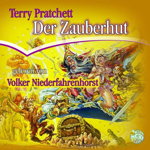 Buchseite und Rezensionen zu 'Der Zauberhut: Ein Scheibenwelt-Roman' von Terry Pratchett