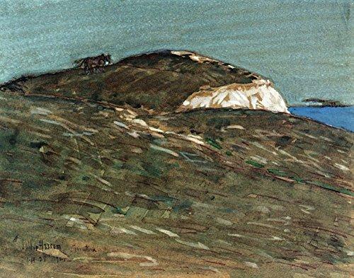 Das Museum Outlet–Die Foto von Aktaion, Montauk, 1921, gespannte Leinwand Galerie verpackt. 40,6x 50,8cm