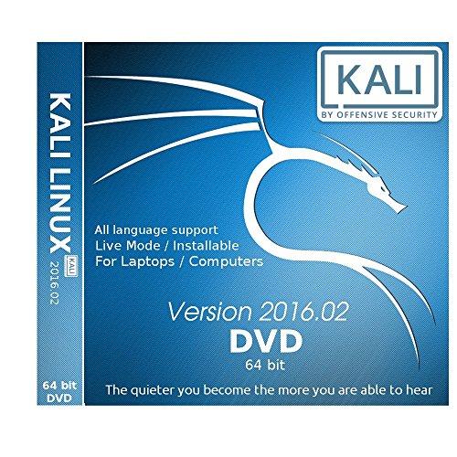 Kali Linux 64 bit 2016.2 DVD