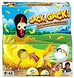 Mattel Games FRL48 - Gack, Gack!, lustiges Hühnerspiel geeignet für 2 - 4 Spieler, Spieldauer ca. 15 Minuten, Kinderspiele ab 5 Jahren