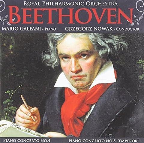 Piano Concertos Nos 4 & 5 by LUDWIG VAN BEETHOVEN (2010-07-27)