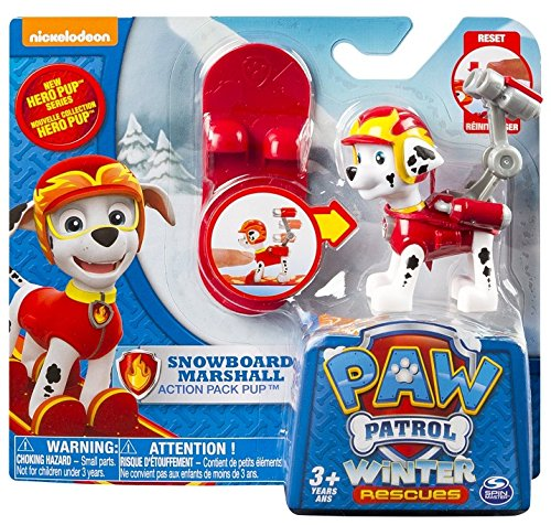 Spin Master - Paw Patrol 20070731 - Winter Rescues- Marshall + snowboard