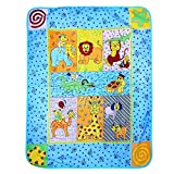 Wonderkids Fleece Blanket Animal Print