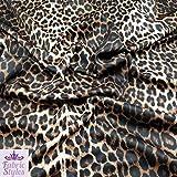 Fabric Styles FS005_1 Neopren-Stoff mit Leopardenmuster,
