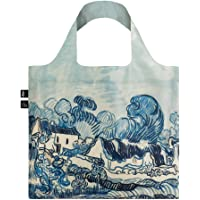 LOQI VAN GOGH Old Vineyard and Landscape Bag Tote da viaggio, 50 cm, 15 liters, Blu (Old Landscape)