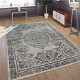 Paco Home Designer Wohnzimmer Teppich 3D Optik Orientalisches Muster In Grau Beige, Grösse:200x290 cm