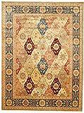 Nain Trading Ziegler Teppich Orientalischer Teppich 365x271 cm, Pakistan Handgeknüpft Klassisch