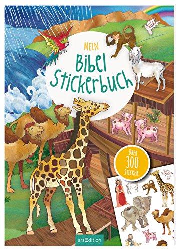 Mein Bibel-Stickerbuch: über 400 Sticker