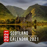 Scotland Calendar 2021: 12 Month Mini Calendar from Jan 2021 to Dec 2021, Cute Gift Idea | Pictures in Every Month