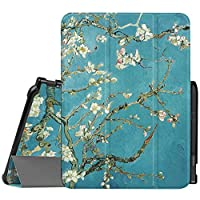 Fintie Samsung Galaxy Tab S3 9.7 Slim Shell Case, Ultra Lightweight Standing Cover with S Pen Protective Holder Auto Sleep / Wake for Tab S3 9.7-Inch Tablet (SM-T820/T825) 2017 Release, Blossom