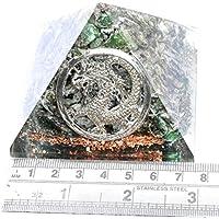 Orgonite Pyramid Emerald 3 inch Gemstone Chakra Balancing Reiki Healing + 1 Green Aventurine Pointer Pendant preisvergleich bei billige-tabletten.eu