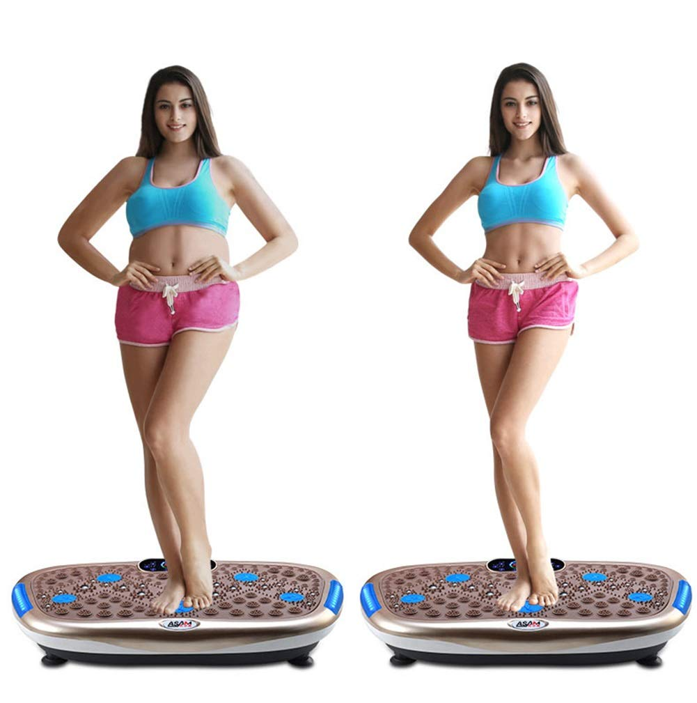 619Y4fByryL - Rocket Vibration Machine,Fitness Exercise Equipment To Lose Weight Tone Muscles
