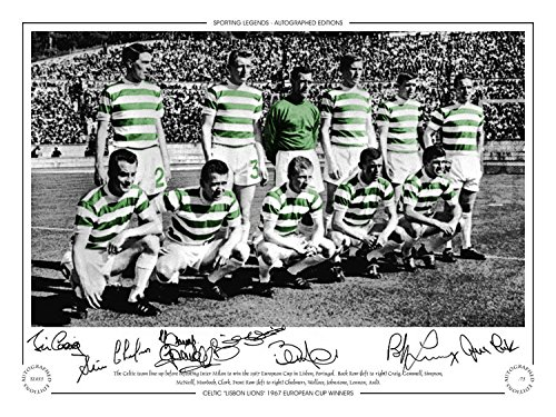 SALE-20-OFF-RRP-GUARANTEED-AUTHENTIC-HAND-SIGNED-16x12-LIMITED-EDITION-CELTIC-1967-EC-WINNERS-LISBON-LIONS