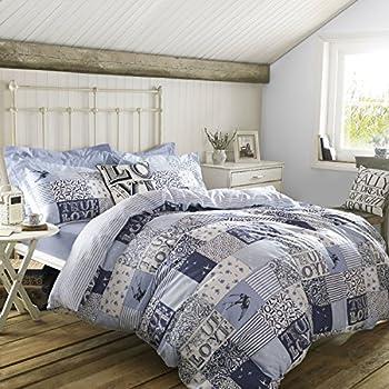 emma bridgewater blue patchwork duvet cover bedding by. Black Bedroom Furniture Sets. Home Design Ideas
