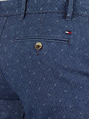 Tommy Hilfiger Uomo Brooklyn Jungle Camera floreale Pantaloncini stampa, Blu Blu