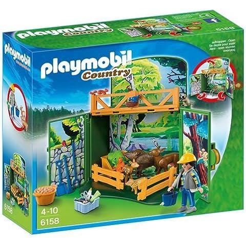 Playmobil - Cofre maletín cuidador animales del bosque (6158)