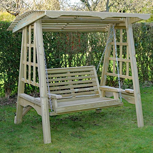Garden Swing | Wooden Garden Swing | Swing Seat | Hammock | Garden Furniture  ...