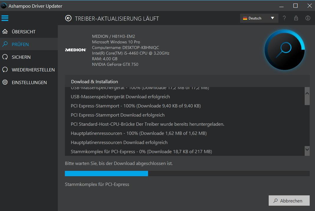 Ashampoo Driver Updater 1.1 - 3 PC 1 Jahr [Download] - 11
