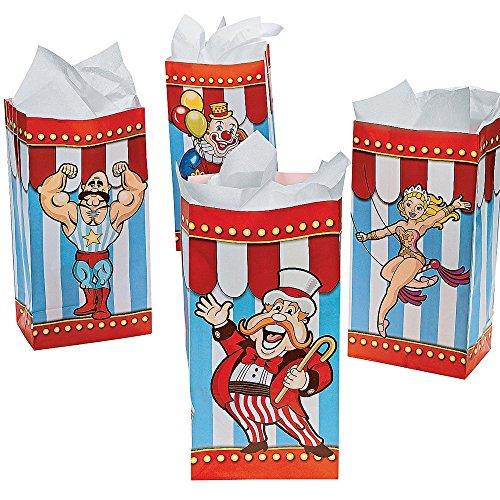 n Zirkus Clown Jahrmarkt Geburtstag Kindergeburtstag Mitbringsel Geschenktüten Adventskalender Party Popkorn ()