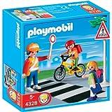 Playmobil - Colegio Cruce Guardia Y Niños (4328)
