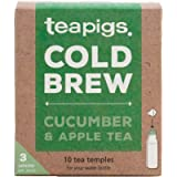 Teapigs Cucumber and Apple Cold Brew Tea Bags (1 Pack of 10 Tea Bags)