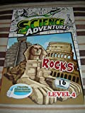Rocks - Science Adventures Level 4 Issue 16 / Full Color Science Comic Magazine for Children / Printed in Singapore / English Corner of SA and Young Readers Express / Engaging Reading for Children Age 11-14 / Self Study