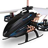 Toy Model 4.5-Channel Mini Helicopter Toy With Remote Control Indoor For Kids And Adults Beginners Birthday Glider RC Helicop