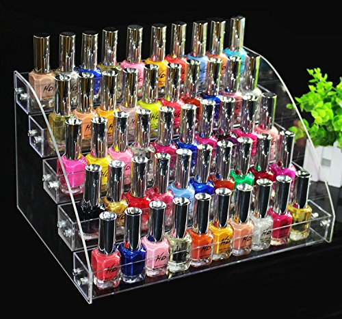 Acrylique Transparent Maquillage Vernis à ongles Vernis support de présentation Organiseur support