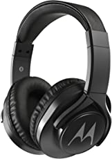 Motorola Pulse 3 Max Wired Headphones (Black)