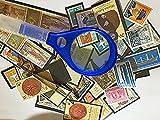 200 Briefmarken aus der DDR, ein Briefmarkenalbum, eine Pinzette und eine Lupe (XXXXX-Large)