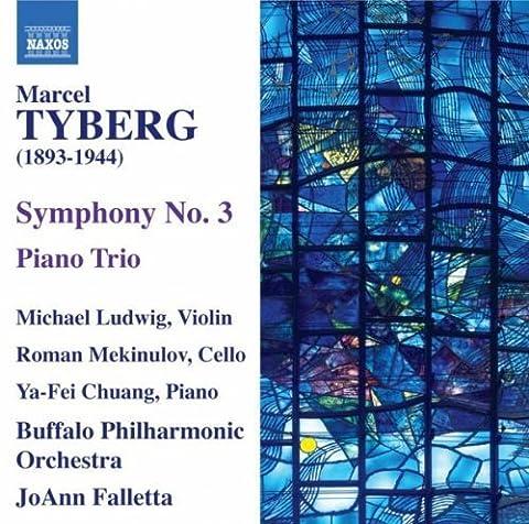 Tyberg: Symphony No.3 (Symphony No. 3/ Piano Trio) by Michael Ludwig (2010-08-31)