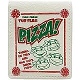Mirage Teenage Mutant Ninja Turtles Pizzaschachtel Stil Weiß Portemonnaie Geldbörse