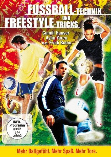 Fussball-Technik und Freestyle-Tricks